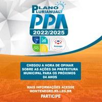 Audiência Pública PPA 2022/2025