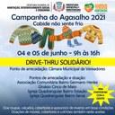Câmara de Vereadores vai ser um dos pontos de coleta da Campanha do Agasalho 2021