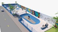 Parque Centenário: reunião discute criação de pista de skate oficial para disputas de campeonatos nacionais