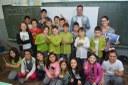 Presidente da Câmara Cristiano Braatz palestra na Escola Walter Belian