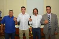 Vereador Cabelo é eleito novamente presidente da Câmara