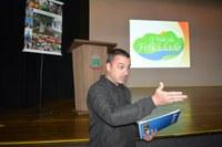 Vereador Cristiano Braatz defende uma rota de ciclo turismo no Vale da Felicidade